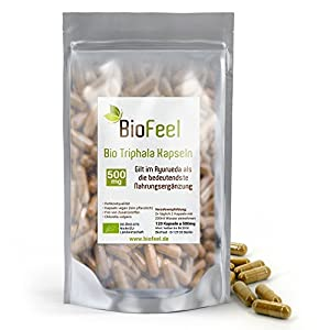 BioFeel – Bio Triphala Kapseln, 120Stk, 500mg
