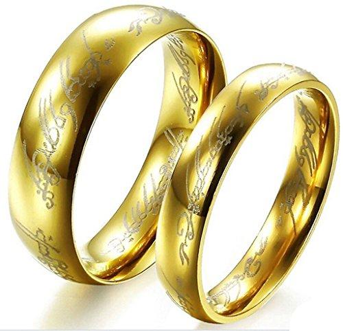 Byst - Coppia di anelli in stile