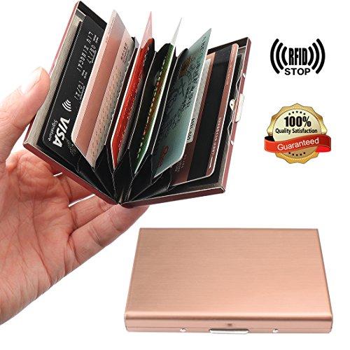 YOBANSA Visitenkartenetui,Brieftasche, Kreditkarten, Geschäftskartenhalter, Visitenkartenetui mit Magnetschnalle für Männer und Frauen - Frauen Kreditkarte Brieftaschen