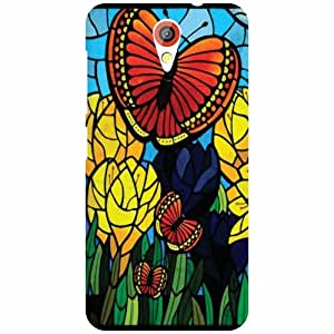 HTC Desire 620G Back Cover - Abstract Designer Cases