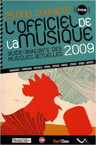 L'officiel de la musique 2009