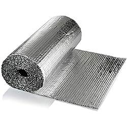 SuperFOIL Kit d'isolation pour porte de garage -Feuilles isolantes de 6m² (SuperFOIL SFBA MP)