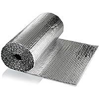 SuperFOIL Garage Door Insulation Kit (6sqm) - 3mm Heat Reflective Reflector Bubble Foil | Save Energy & Save Money - Fits Manual & Automatic Car Garage Doors - ukpricecomparsion.eu