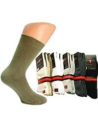 8 Paar hochwertige Damen Socken 4500 aus Baumwolle Grau/AnthrazitGröße 39-42