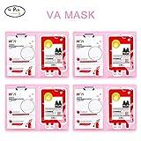 PF79anti-rughe maschera fogli–vitamina A anti Aging Sheet Mask–viso rassodante lifting per pelle matura