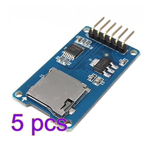 5x Demarkt SPI Leser Micro Speicher SD TF Karte Speicherkarte Schild Modul für Arduino