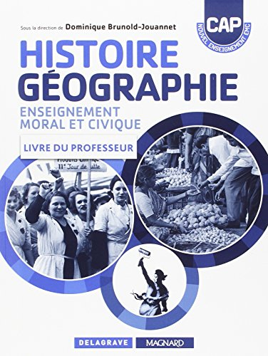Histoiregéographie EMC cap professeur 2015