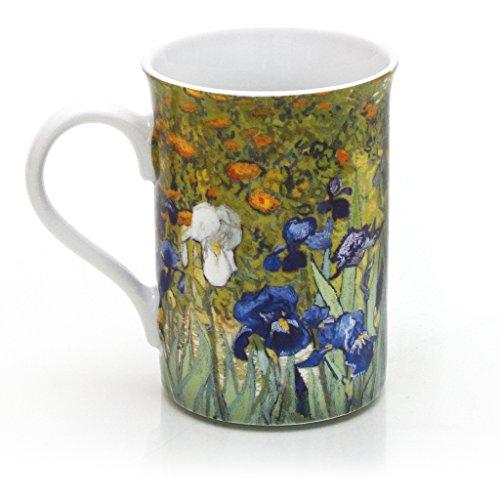 Getty Museum Store Van Gogh's Irises Tasse aus Porzellan -