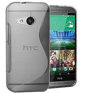 Accessory Master Coque en silicone gel pour HTC M8 Mini Transparent