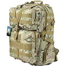 TTLIFE Di alta qualità zaino 45L Colori multipli per il sacchetto Bike Hike alpinismo attività all'aperto militare per i viaggi (CP)