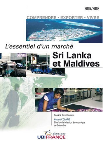 Sri Lanka et Maldives par Hubert Colaris