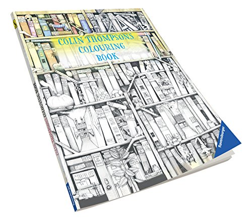 Ravensburger Colin Thompsons Colouring Book Erwachsenen-Malbuch