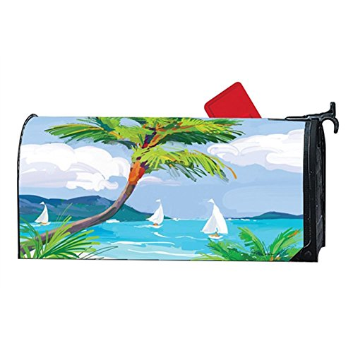 Aimant Works Mailwrap - Tropical Palm Tree