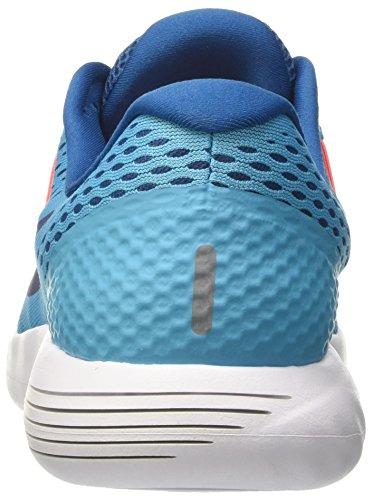 Nike Herren Lunarglide 8 Laufschuhe Türkis (Chlorine Blue/binary Blue/industrial Blue/hyper Orange/white)
