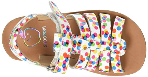 Shoo Pom Goa Spart, Sandales Bout Ouvert Fille Multicolore (Multi)