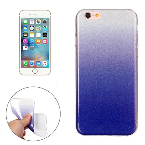 Für iPhone 6 / 6s, IMD Color Fades Glitter Powder TPU Schutzhülle DEXING ( SKU : IP6G8686M ) IP6G8686D