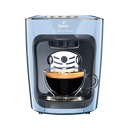 Tchibo Cafissimo mini Kaffeemaschine, Misty Blue