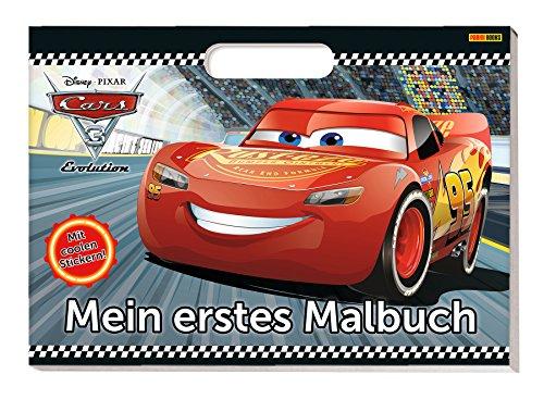 Disney Cars 3: Mein erstes Malbuch: Malbuch mit Henkel und Stickern