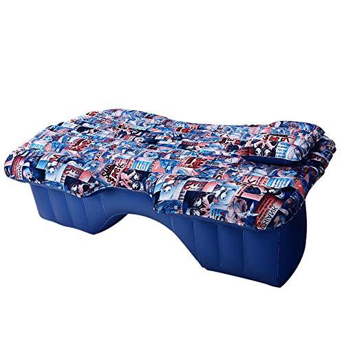 Aufblasbare Reise Auto-Luft-Bett Komfortabler Auto-Rücksitzkissen Luftmatratze Portable