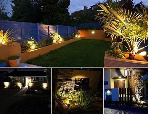 Greenclick 2 pezzi lampade da giardino corrente alimentazione solare