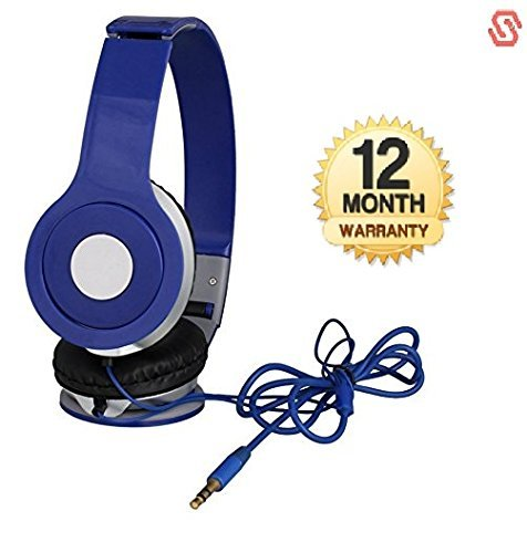 Wonderford Supreno Stereo MegaBass Headphone with Deep Bass and