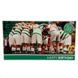 Celtic FC Huddle Birthday Card Club Crest Licensed Brand New Fast Dispatch