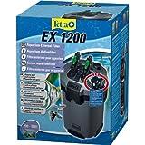 Tetra 145559 EX 1200 leistungsstarker Außenfilter (für Aquarien inklusive 5 verschiedener Filtermedien, geeignet für 200 - 500 liters Aquarien)