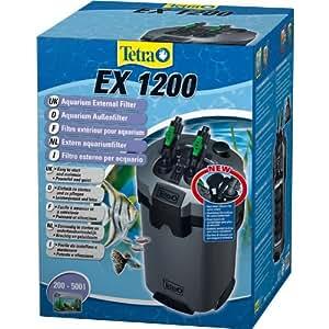 tetra 145559 filtre ext rieur pour aquarium ex 1200 animalerie. Black Bedroom Furniture Sets. Home Design Ideas