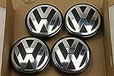 4 x VW 3b7601171 cache Moyeu centre roue pour jantes aluminium Envoi depuis France