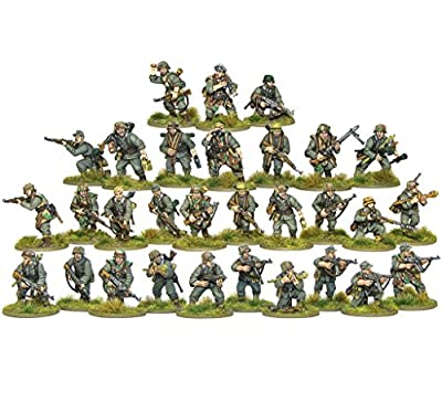 Bolt Action - World War II Late War German Grenadiers - 28mm Miniatures x 30 - Warlord Games by Bolt Action