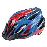 ALPINA Fb,Casco da Bicicletta 2.0 per Bambini, Unisex, 9678153, Rosso/Blu, 50-55 cm
