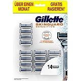Gillette SkinGuard Sensitive scheermesjes voor mannen, 14 stuks