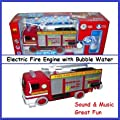 Pumper the Electric Fire Truck with Bubble Water