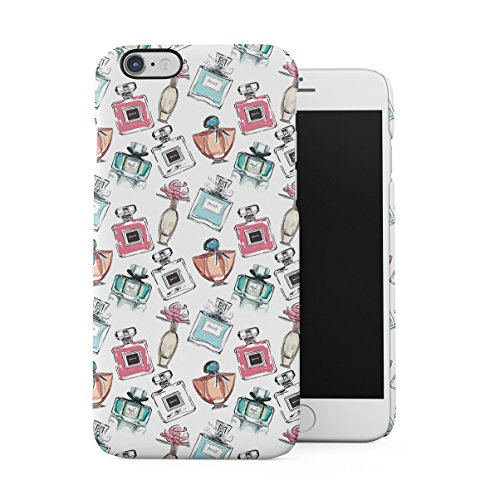Spilled Red & Pink Nail Varnish Pattern Apple iPhone 6 , iPhone 6S Snap-On Hard Plastic Protective Shell Case Cover Custodia Parfume Bottles
