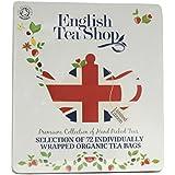 English Tea Shop Diamond Jubilee Assorted Fairtrade and Organic Tea Bags Gift Tin (72 Sachets)