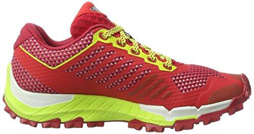 Dynafit Damen Trailbreaker W Traillaufschuhe Rot (Crimson/Fluo Yellow)