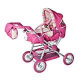 Knorrtoys 10838 - Puppenkombi Twingo S - pink stripe -