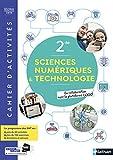 SNT - Cahier de Sciences numériques et Technologie 2de - cahier élève (nouveau programme 2019)...