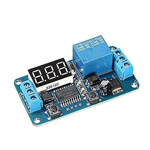 Timer - SODIAL(R)DC 12V LED-Digital Delay Timer-Steuerung-Switch-Modul PLC Automation anzeigen