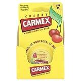 Carmex Blister Lip Balm Pot, Cherry 7.5 g (Pack of 8)
