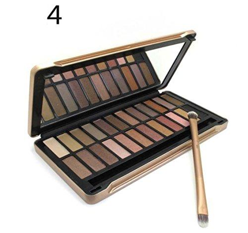 MZP Eyeshadow Farbe Lidschatten 12/24 , nk4 (24 colors)