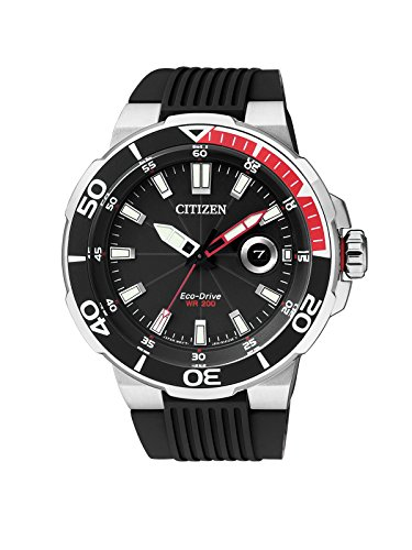 Citizen Herren-Armbanduhr Analog Quarz Kautschuk AW1420-04E