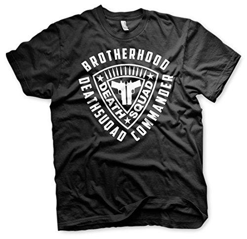 Brotherhood Deathsquad Commando - Bad Ass Tshirt Schwarz
