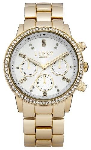 Police. LP168 - Reloj de cuarzo para mujer, con correa de acero inoxidable, color dorado