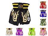 Kids Thai Kickboxing Shorts Trunks Junior Children Training Punching Sparring Clothing MMA RingMaster UK