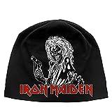 Iron Maiden Mütze Beanie Cap Classic Killers Logo offiziell Nue Schwarz Jersey