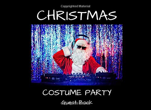 Christmas Costume Party Guest Book