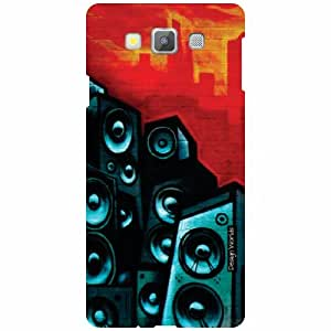 Design Worlds Back Cover For Samsung Galaxy A7 SM-A700FD - Multicolor