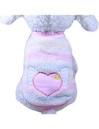 Culater® Pet Vestiti Del Cane Inverno del Cucciolo del Gatto Per Cani di Piccola Taglia Abbigliamento Maglione Di Natale Caldi Animali Abbigliamento
