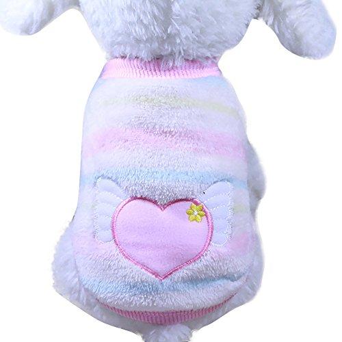Sweatshirt Mit Kapuze Mantel Kleidung Pullover Haustier Welpen T-Shirt Weste Hund T Shirt Kleid Weihnachten Süß Katze Puppy Bekleidung Kleine Weiche MäNtel ()